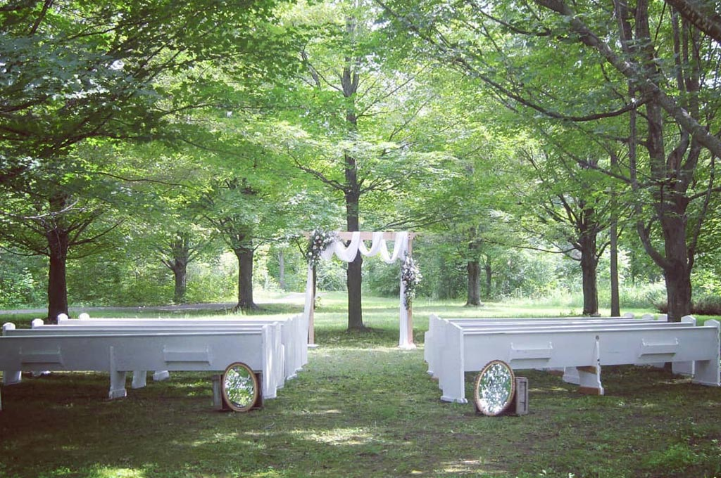 the maple grove - outdoor ceremony site