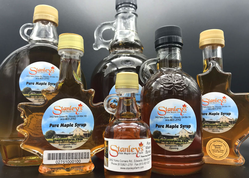 Stanley's maple products
