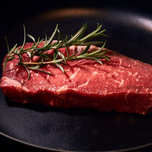 beef striploin steak