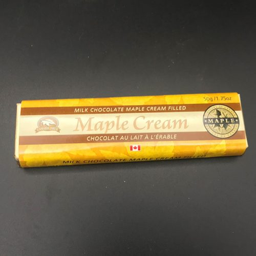 Maple Cream Chocolate Bar