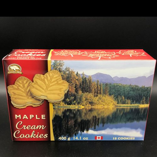 Maple Cream Cookies