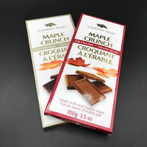 Maple Crunch Chocolate Bars