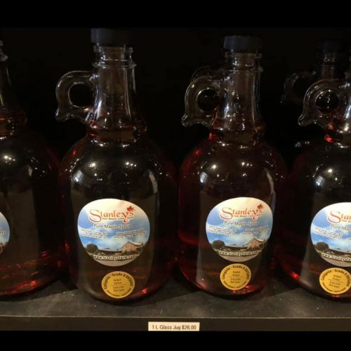 Maple Syrup 1litre glass bottle