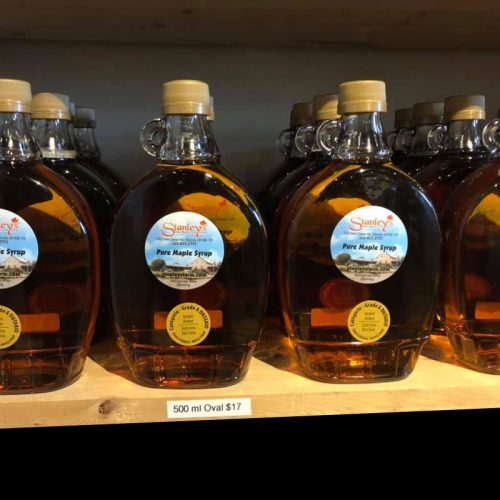 Maple Syrup 500ml glass bottle
