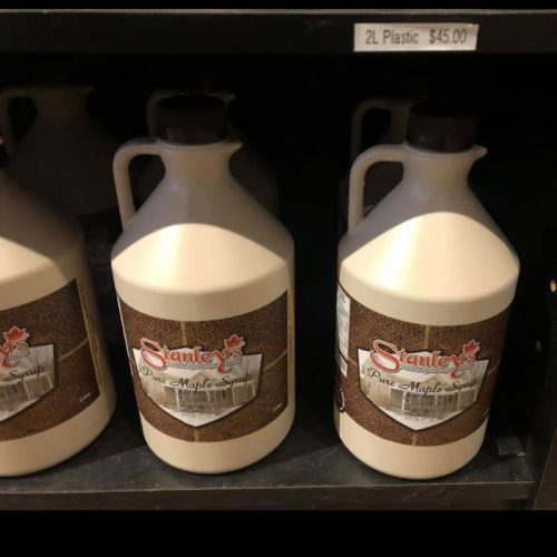 Maple Syrup 2 litre plastic jug