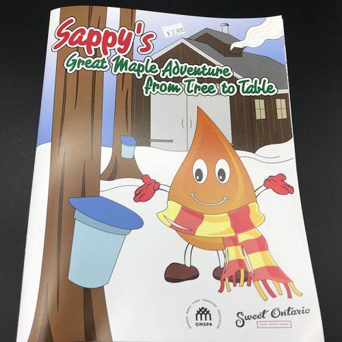 Book: Sappy's Great Maple Adventure