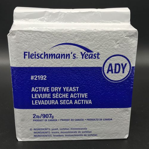 2 pound package of yeast