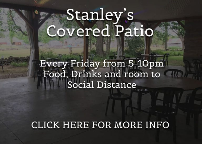stanley's covered patio, every friday night